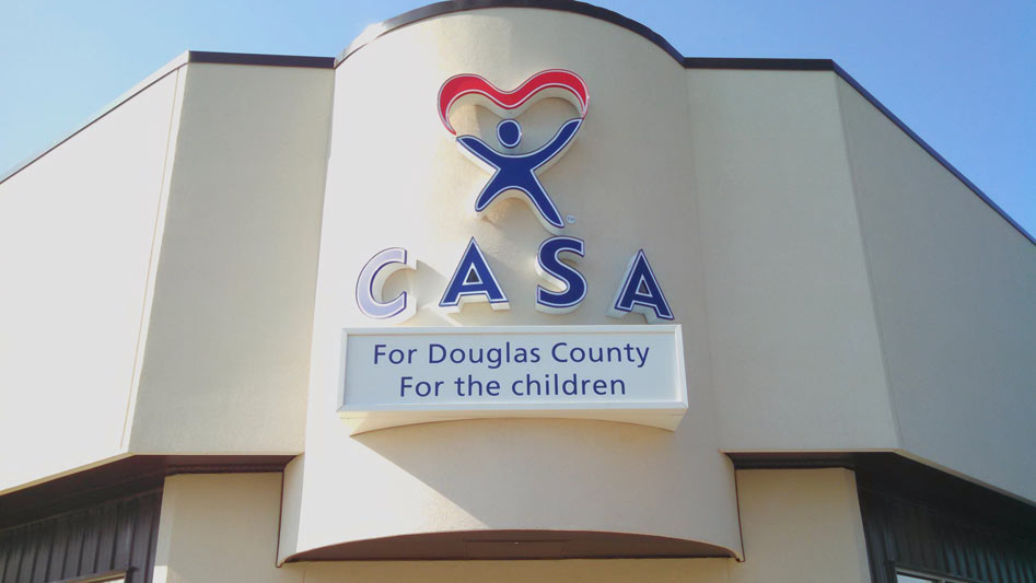 ... Casa Illuminated Channel Letters, Logo, And Cabinet ...