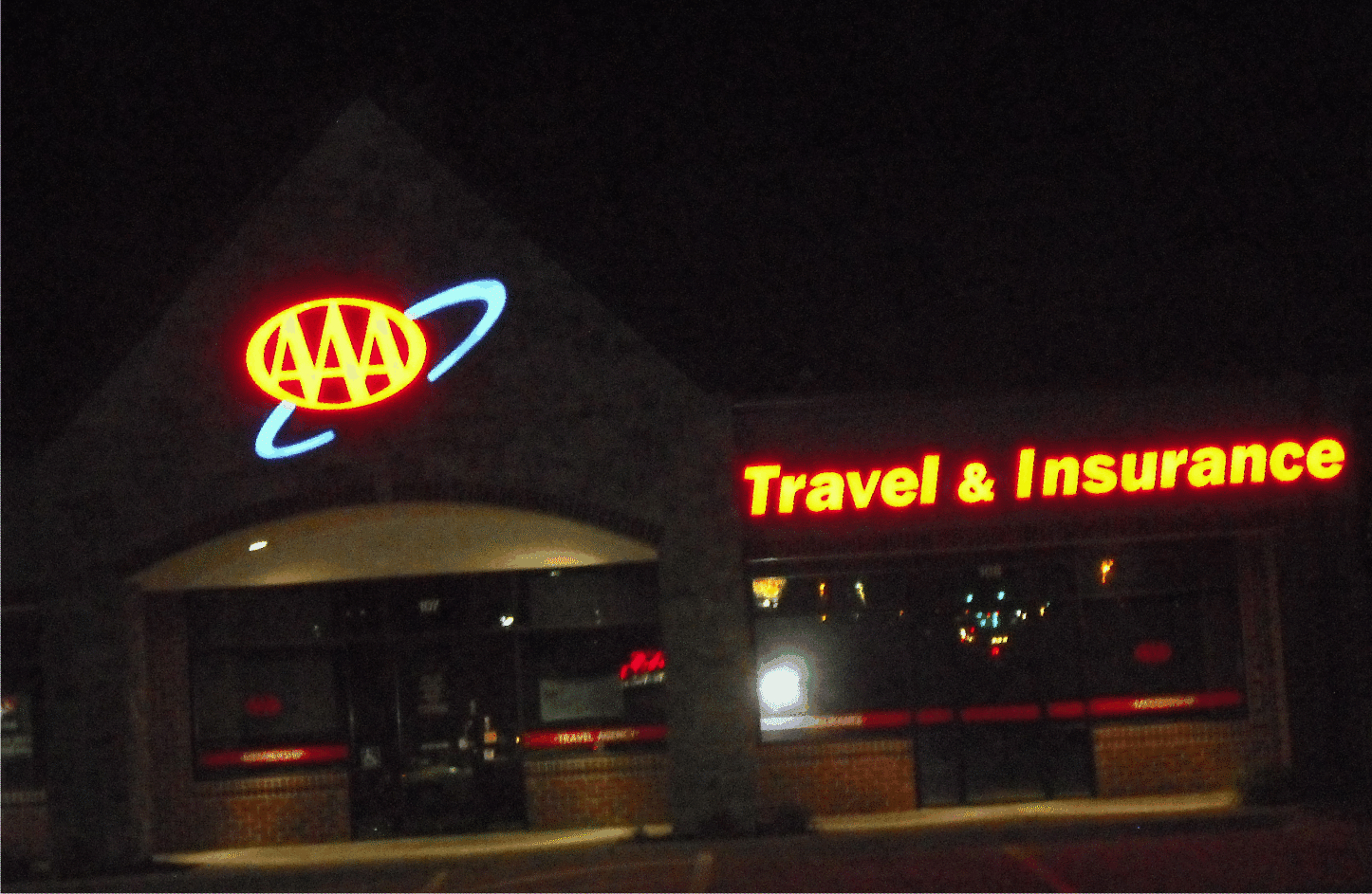 AAA LED signs by SignWorks Omaha