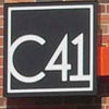 Illuminated C41 Photography channel letters and logo cabinet