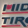 Non-illuminated Midwest Tire channel letters