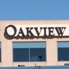 Illuminated Oakview Medical Building channel letters